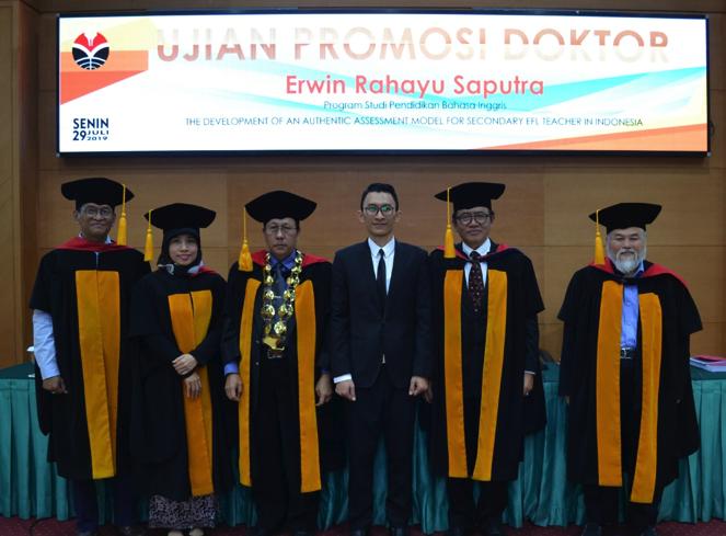 Testimonial of Dr. Erwin Rahayu Saputra , M.Pd.